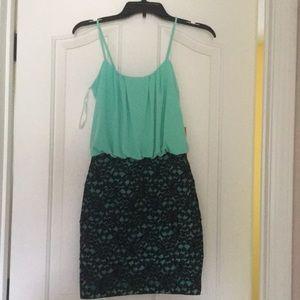 Lace bottom Dress